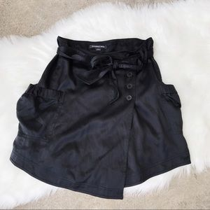 Alexander Wang 100% Silk Button Down Skirt
